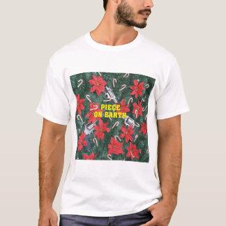 Piece On Earth Gun Christmas T-Shirt