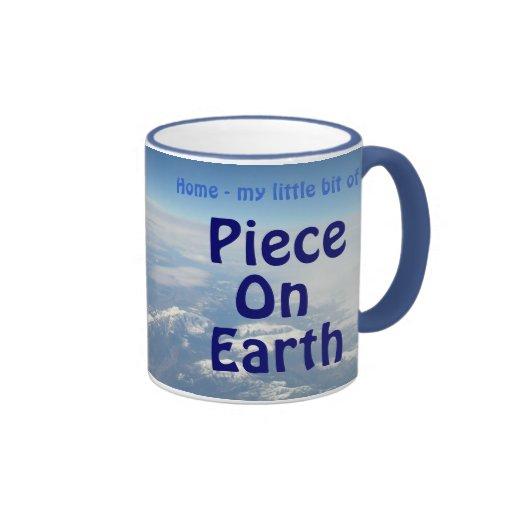 Piece On Earth Ringer Mug