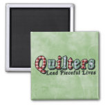 Pieceful Life 2 Inch Square Magnet