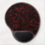 Pieces 2 (Red) Gel Mouse Mats
