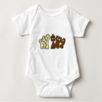 Pieces of chess - Chess Baby Bodysuit