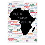 Pieces Of History BHM Notecards Stationery Note Card