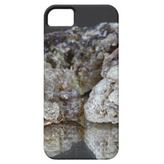 Pieces of natural frankincense resin on a mirror. iPhone SE/5/5s case