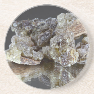 Pieces of natural frankincense sandstone coaster