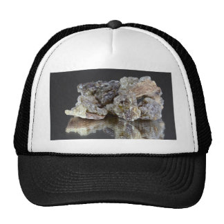 Pieces of natural frankincense trucker hat