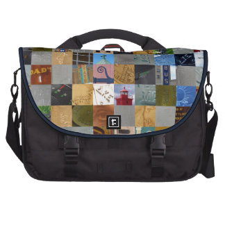 Pieces of Pictures Collage Laptop Bag