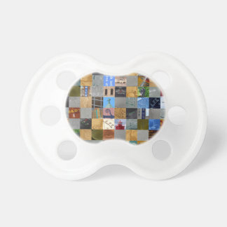 Pieces of Pictures Collage Pacifiers