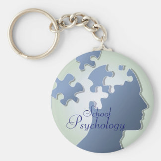 Pieces of the Puzzle School Psychology Key Chain
