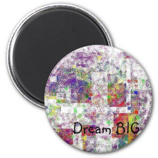 pieces of the rainbow-dream big refrigerator magnets
