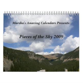 Pieces of the Sky Calendar
