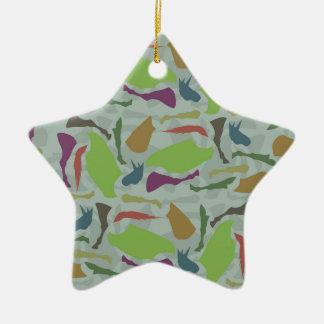 Pieces Of Unicorn Ceramic Ornament