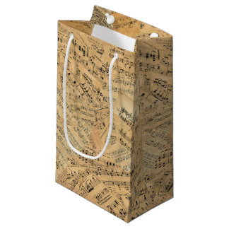 Pieces of Vintage Music POMV Small Gift Bag