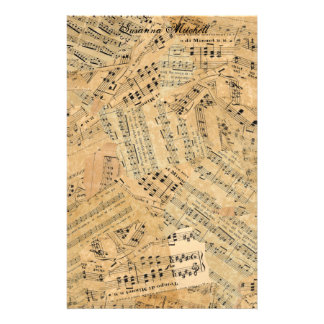 Pieces of Vintage Music POMV Stationery