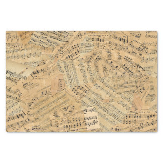 Pieces of Vintage Music POMV Tissue Paper