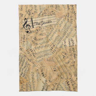 Pieces of Vintage Music POMV Towel
