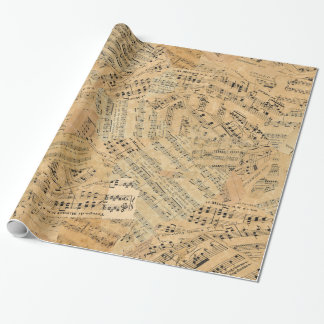 Pieces of Vintage Music POMV Wrapping Paper