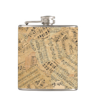 Pieces of Vintage Music POMVa Hip Flask