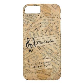 Pieces of Vintage Music POMVa iPhone 7 Case