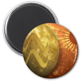 Pieces water sign 2 inch round magnet