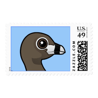 Pied-billed Grebe Stamp