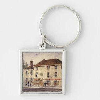 Pied Bull Public House, 1848 Keychain