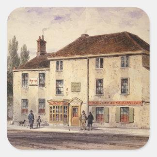 Pied Bull Public House, 1848 Square Sticker