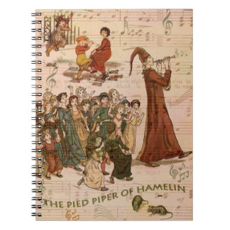 Pied Piper Collage Notebook