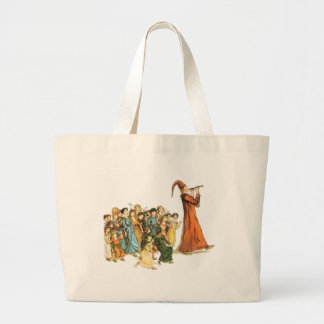 Pied Piper Illustration by Kate Greenaway Tote Bag