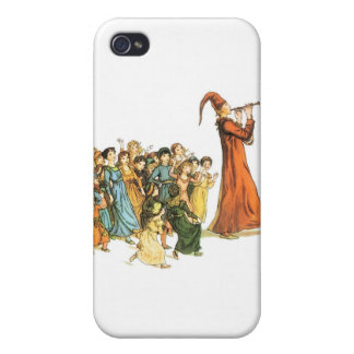 Pied Piper Illustration by Kate Greenaway iPhone 4 Case
