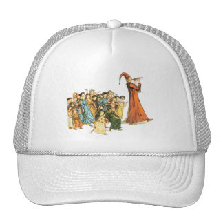 Pied Piper Illustration by Kate Greenaway Trucker Hat