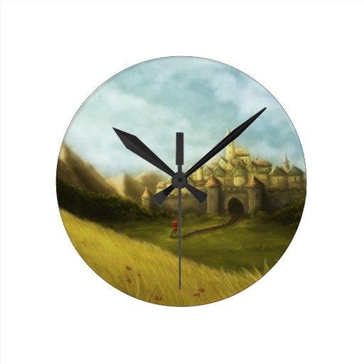 pied piper of hamelin clock