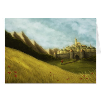 pied piper of hamelin fairytale notecard