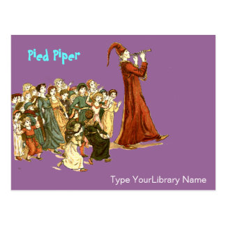 Pied Piper Postcard