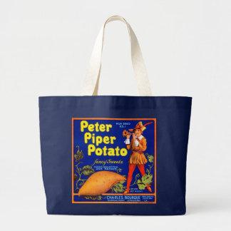 Pied Piper Potato Canvas Bag