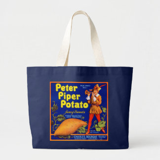 Pied Piper Potato Large Tote Bag
