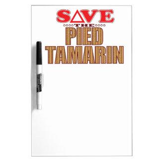 Pied Tamarin Save Dry-Erase Board