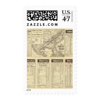 Piedmont Air Line Postage