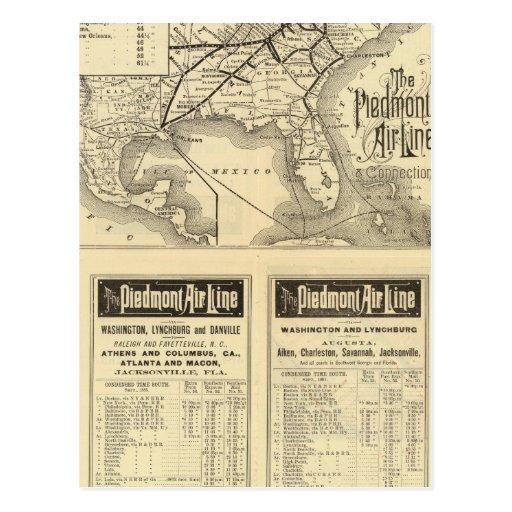 Piedmont Air Line Postcard