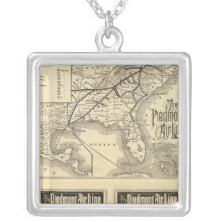 Piedmont Air Line Silver Plated Necklace