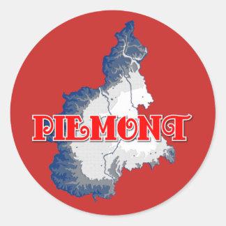 Piedmont Classic Round Sticker