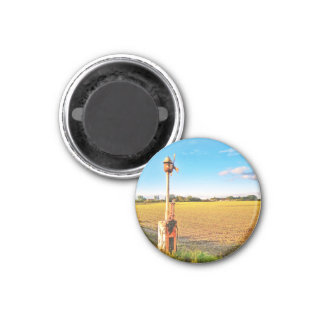 Piedmont countryside Circle Magnet