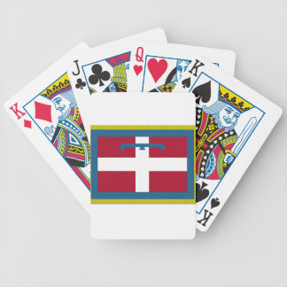 Piedmont (Italy) Flag Bicycle Playing Cards