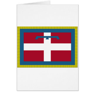 Piedmont (Italy) Flag Greeting Card