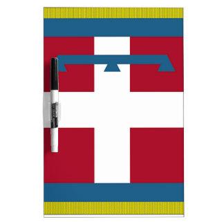 Piedmont (Italy) Flag Dry-Erase Whiteboard