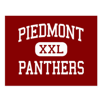 Piedmont - Panthers - Middle - Monroe Postcard