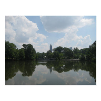 Piedmont Park, Atlanta Postcard