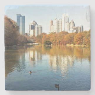 Piedmont Park Skyline Atlanta Landmark Coaster