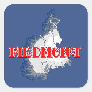 Piedmont Square Sticker