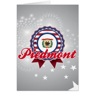 Piedmont, WV Greeting Card
