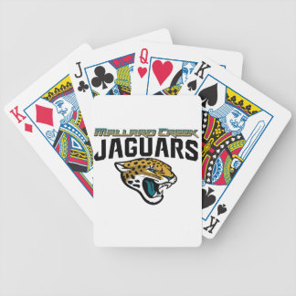 Piedmont Youth Football Mallard Creek Jaguars Bicycle Poker Cards